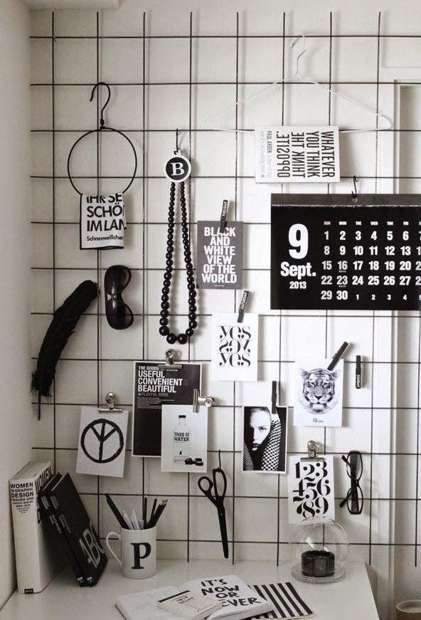 moodboard, malla metalica, escritorio,despacho, estilo industrial, zona de estudio, zona de trabajo, despacho industrial, workspaces, tablero inspiración.