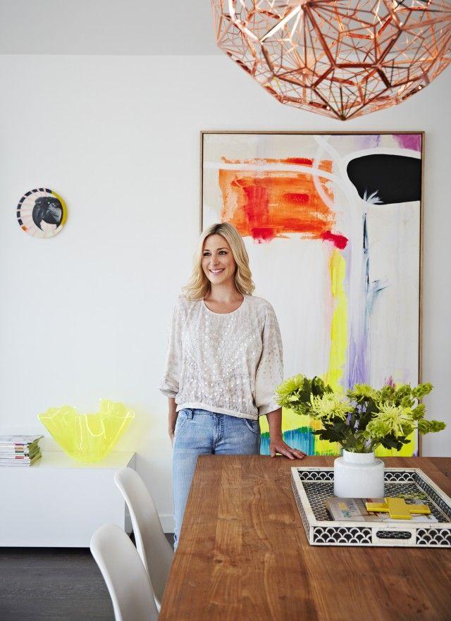 Aimee Tarulli's own home inspired her styling career
