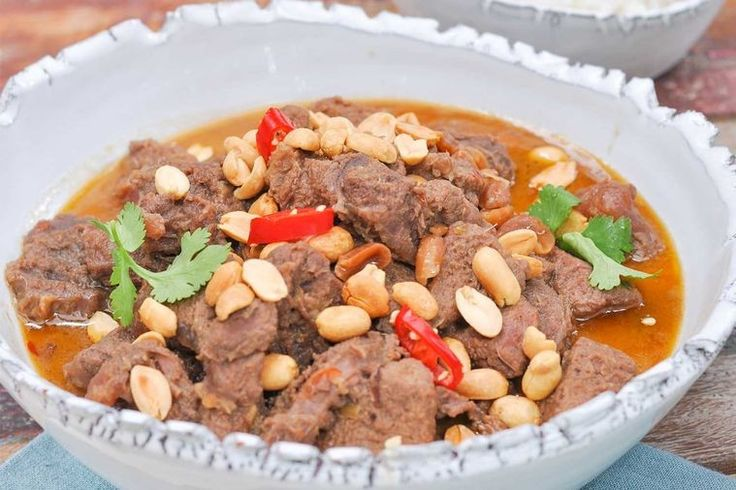 Spice things up come dinner time with this punchy Thai beef curry that