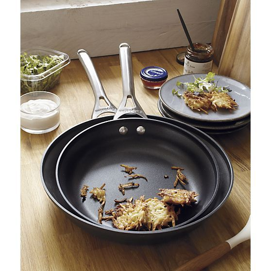 2-Piece Calphalon® Contemporary Nonstick Frypan Set in Cookware Sets | Crate and Barrel