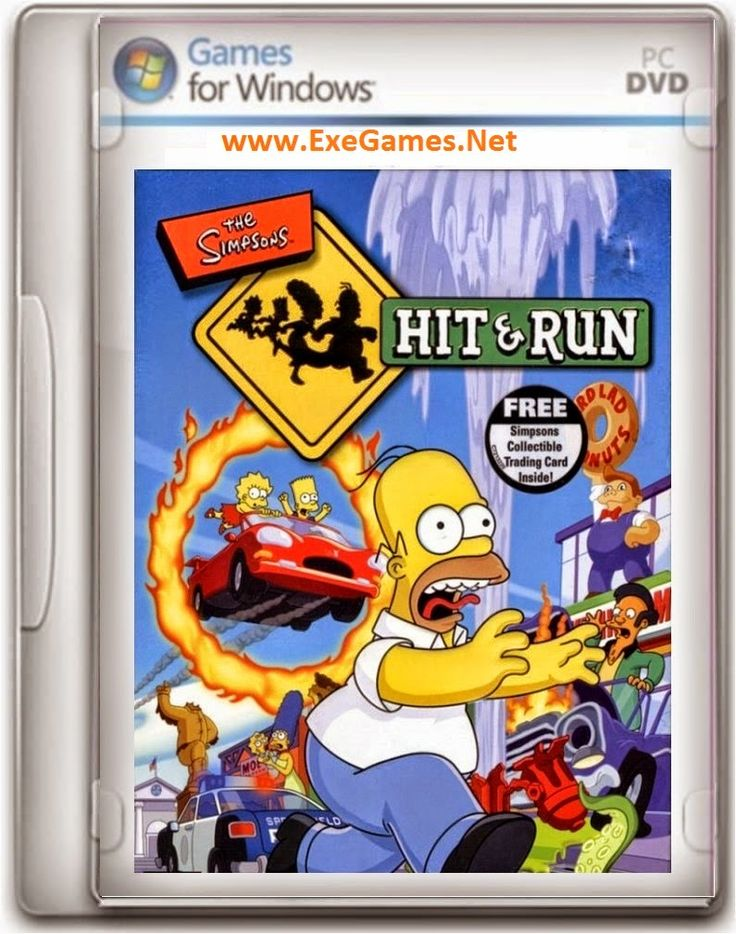 Simpsons Hit And Run Game - http://www.exegames.net/2014/07/simpsons-hit-and-run-game.html