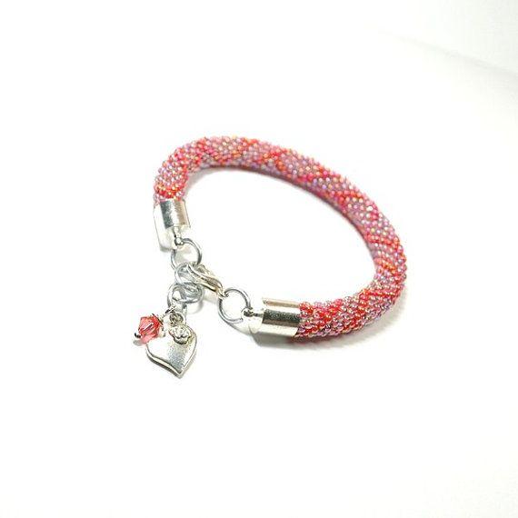 Beaded Bracelet. Toho Seed Beads Bracelet. Bead by ArtStyleBizu