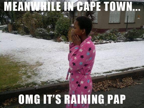 It's raining pap!!