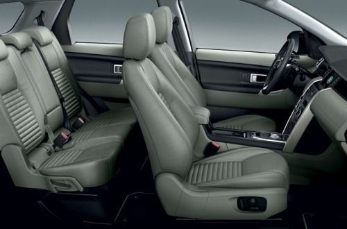 New Discovery Sport's seat heating and cooling system.