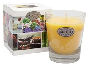 Free Scented Candle from Salt City Candles. Worked for me 1/25/13.