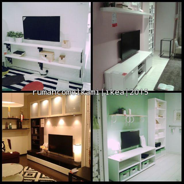 Rumah Comel Kami Idea Kabinet Tv Ikea Interior Design Pinterest Tvs And Interiors