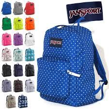 This are only some of many Jansport book bags. | Back to school ...