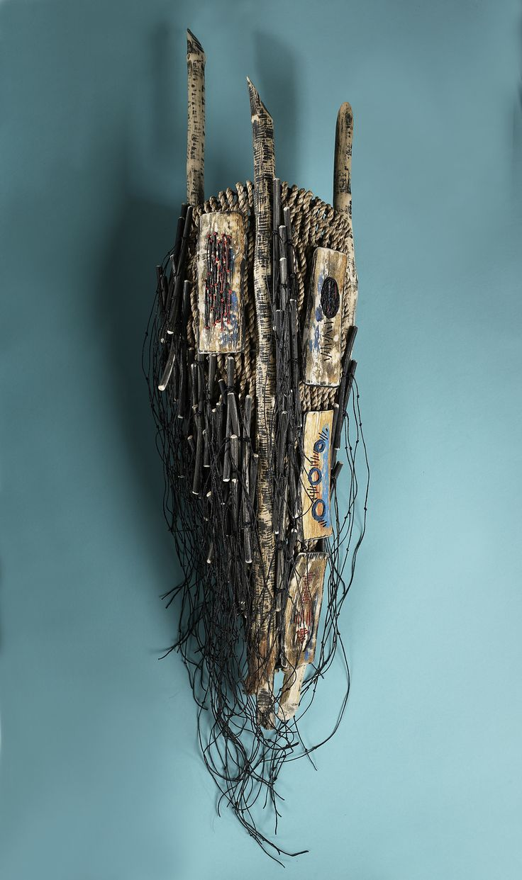 Shannon Weber, Oregon  Water Messages Series  woven, stitched, sticks, seagrass, willow, kelp