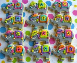 Indian Wedding Favours - Elephant Cookies