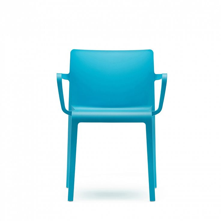 Glass reinforced plastic armchair 'Volt Plus' by Pedrali