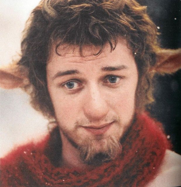 Quite fond of James McAvoy across the board, but I had to pin him in Mr. Tumnus mode, because who doesn't love Mr. Tumnus?