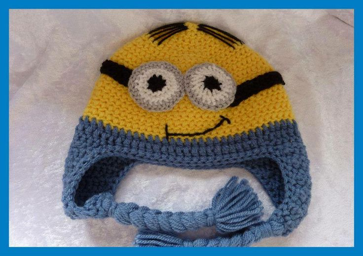 Louises brilliant minion knitted hat. Crafty Minions ...