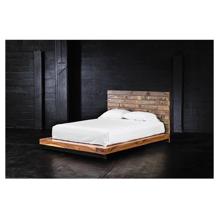 Bed- Simple modern design w/ natural edge