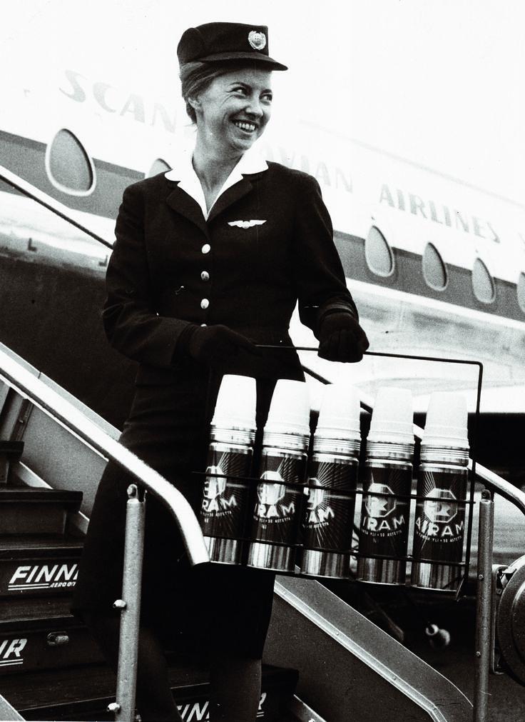 Hot coffee needed on flight.