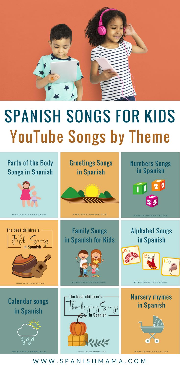 Spanish YouTube Channels for Kids - Spanish Playground