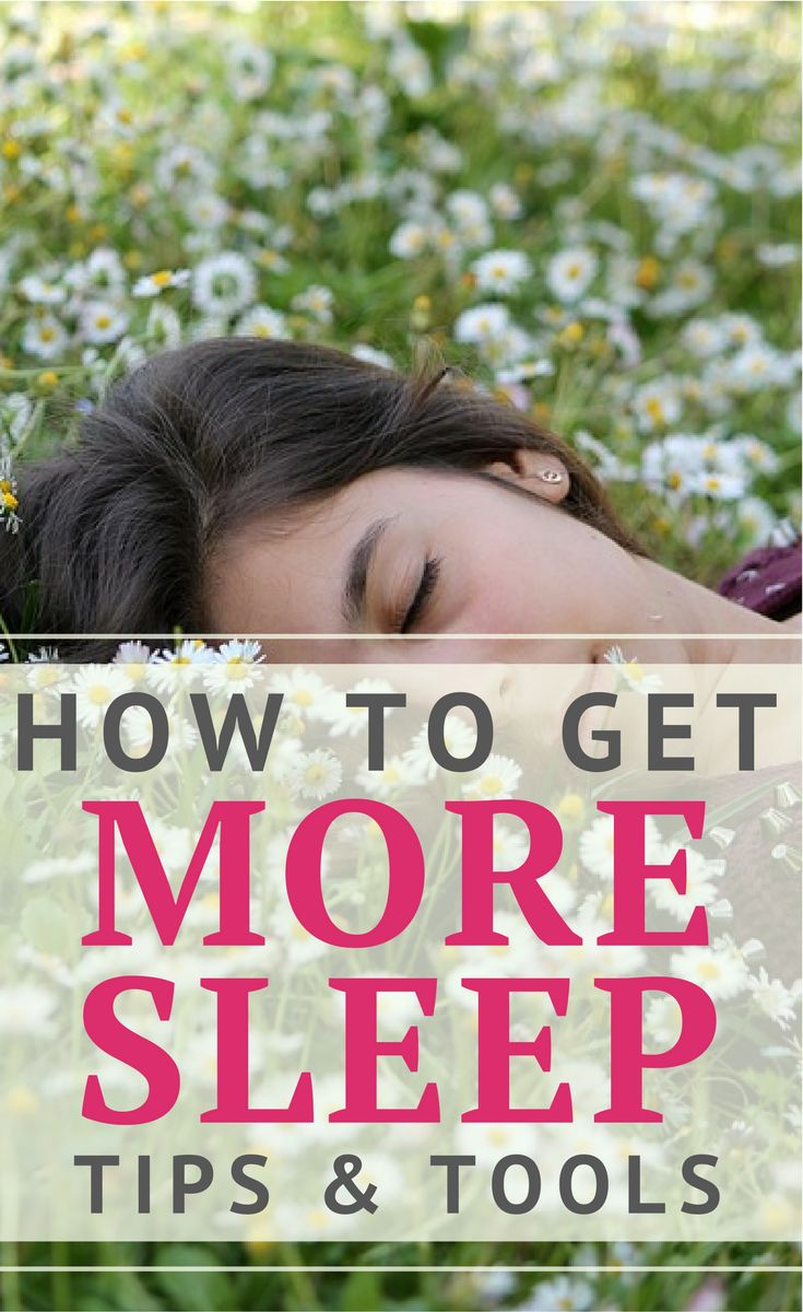 Tips to get more sleep.