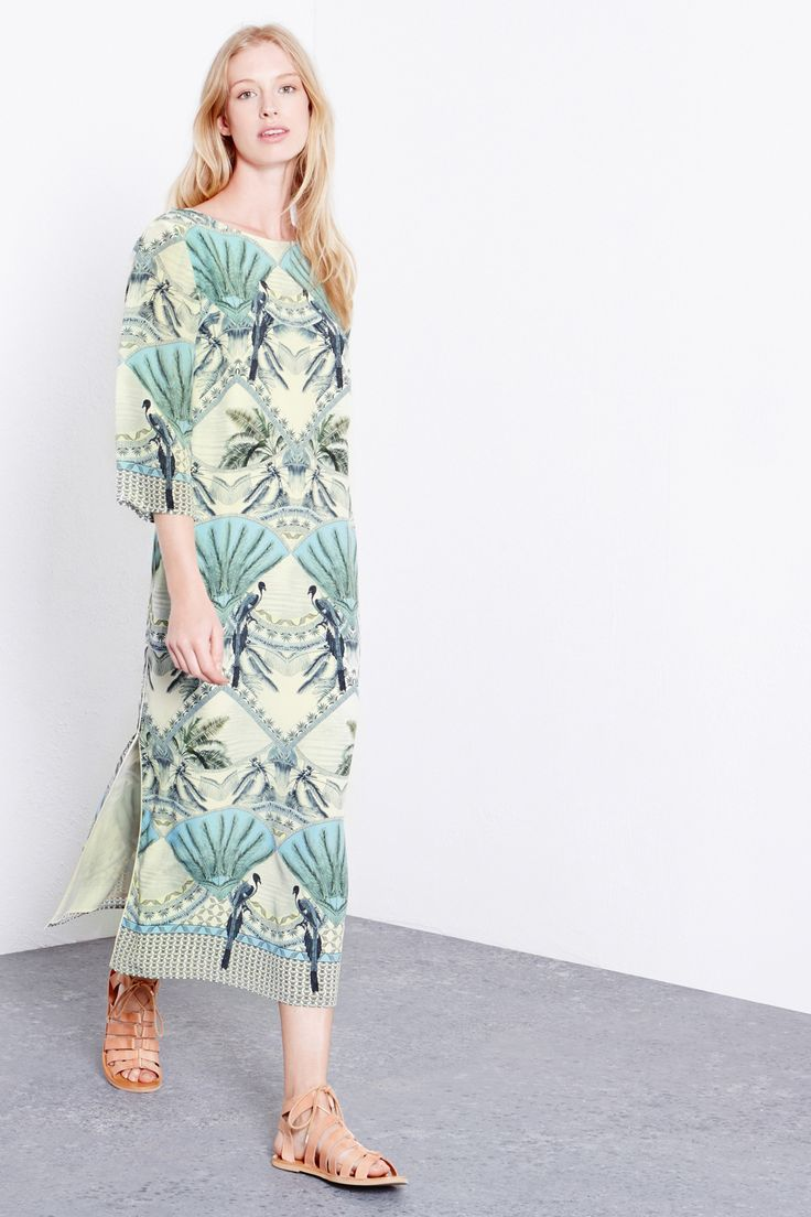 COLONIAL SILK MIDI DRESS £90.00