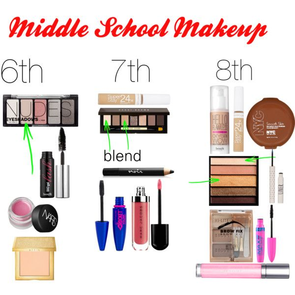 Middle School Makeup (6th, 7th, 8th)-- this also works for people who are minimalists when it comes to makeup