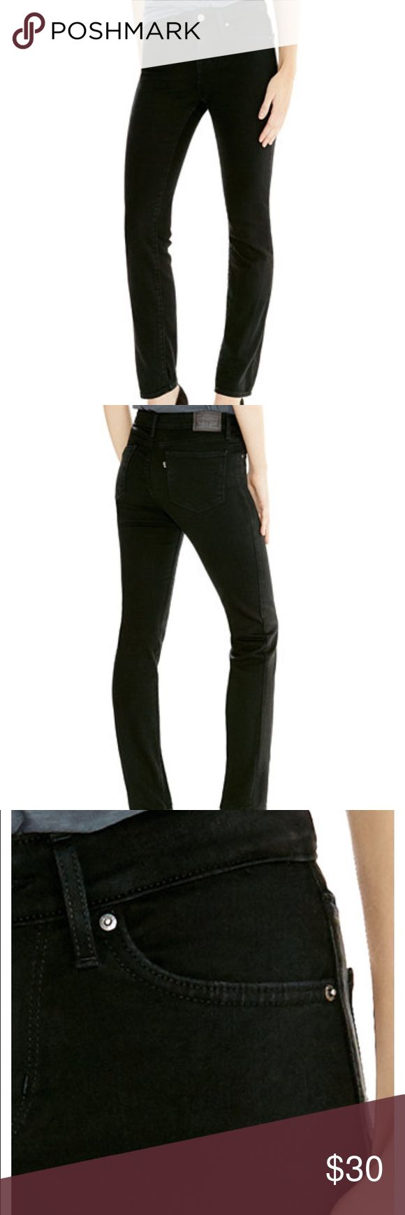 Levi jeans Black Levi jeans only work a handful of timescale from the 712 line. Levi's Pants Straight Leg