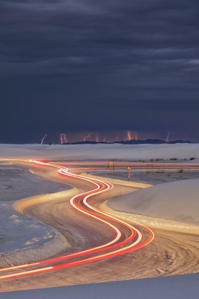 White Sands National Monument, New Mexico, Sand-Storm | Danilo Faria