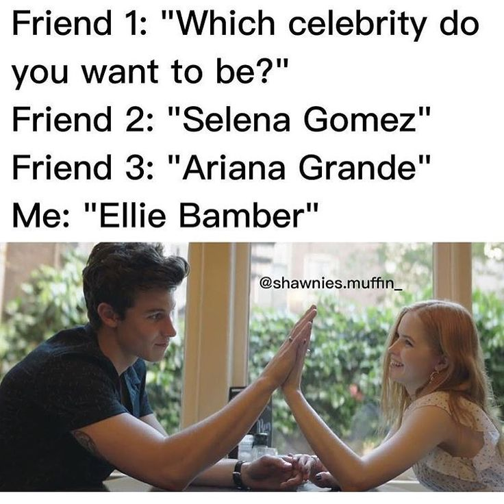 lol yes, although I support Shawmila (tbh I don't even like ellie bamber)