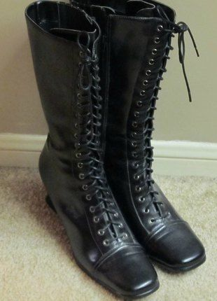 1000  ideas about Black Lace Up Boots on Pinterest | Combat boots