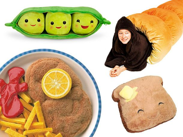 Gift Guide: Plush Food Toys and Cushions
