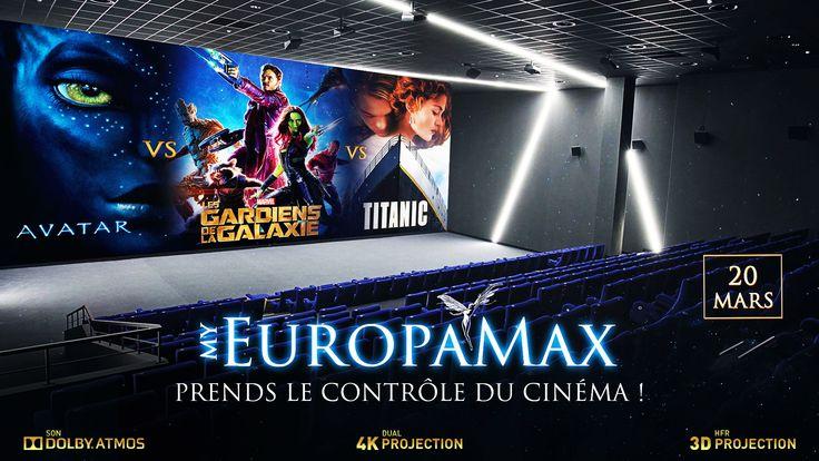 Participez aux votes du meilleur film parmi Titanic, Avatar et Gardiens de la Galaxie et tentez de gagner deux places de cinéma pour un évenement spécial à EuropaCorp Cinemas !