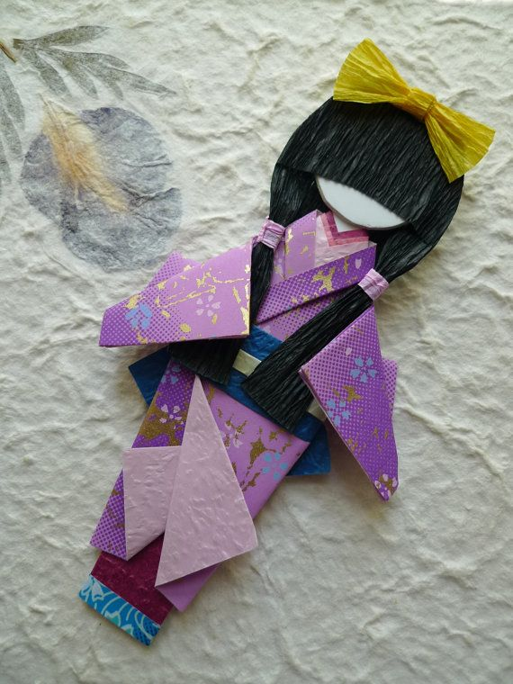 Japanese origami doll ( Hina-ningyō) - Yuka https://www.etsy.com/hk-en/listing/162035019/japanese-origami-doll-hina-ningy-yuka?ref=shop_home_active