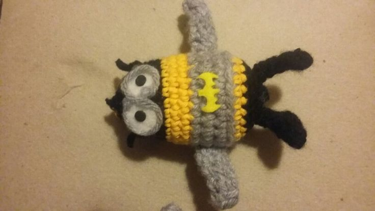 Batminion a crochet - Bob