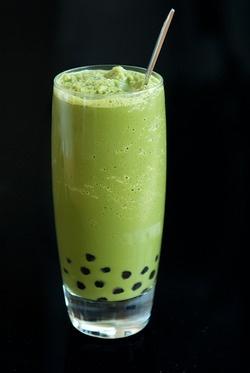matcha tea slushie with boba recipe-i couldn't help it I love this ...