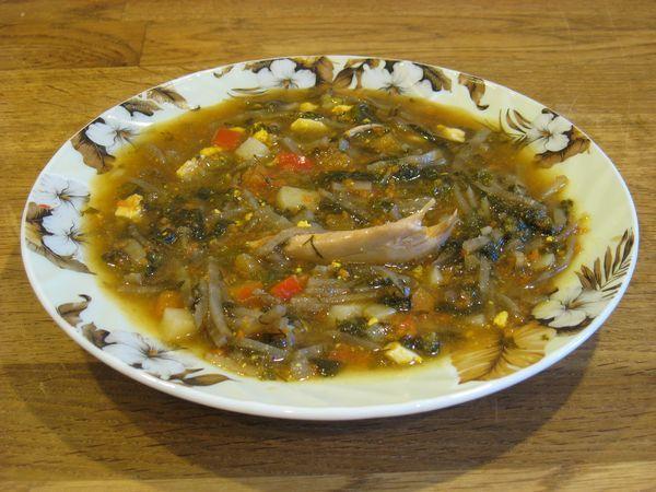 Томатный суп с пельменями рецепт
