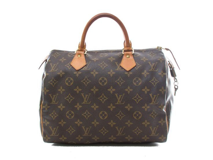 Authentic Louis Vuitton monogram Speedy 30 handbag M41526