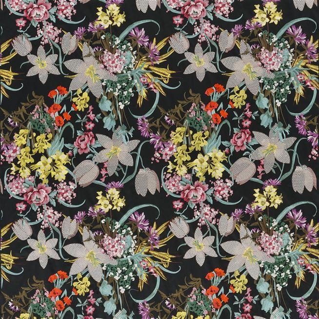 Josephine - Reglisse #Wallpaper from Christian Lacroix Maison