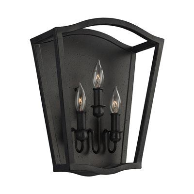Feiss WB1757 Yarmouth 3 Light Sconce