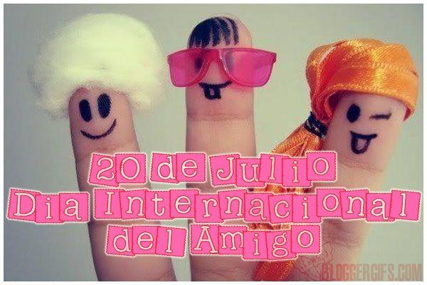 20 de Julio - Día Internacional del Amigo
