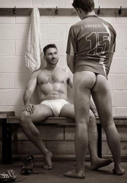 Hot gay male massage