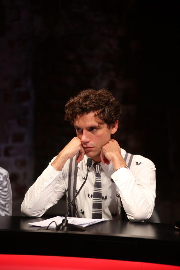 Mika X Factor Italy 2013 - Jury Photocall