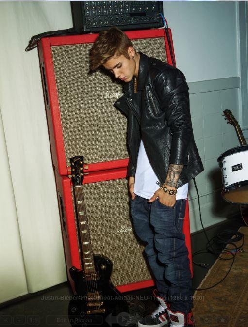 Justin Bieber Photoshoo Adidas NEO