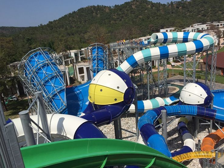 waterpark waterslides from polin