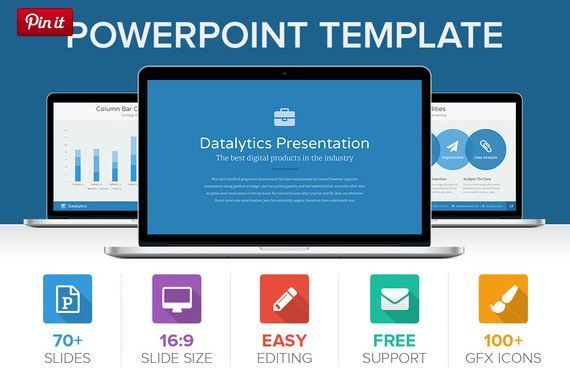 Datalytics PowerPoint Presentation for cool visualization