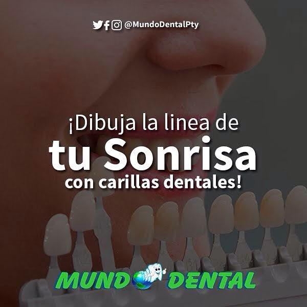Puedes tener una sonrisa totalmente nueva con carillas dentales.  Cámbiale la perspectiva a tu rostro con una nueva sonrisa. . #MundoDental #MundoDentalPty #Pty #DescuentosPanama