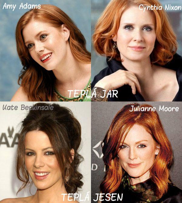 Farba vlasov podľa farebného typu - Supervizáž