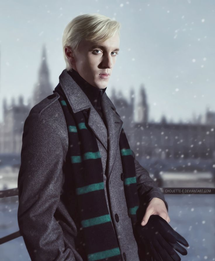 Draco Malfoy by chouette-e.deviantart.com on @deviantART