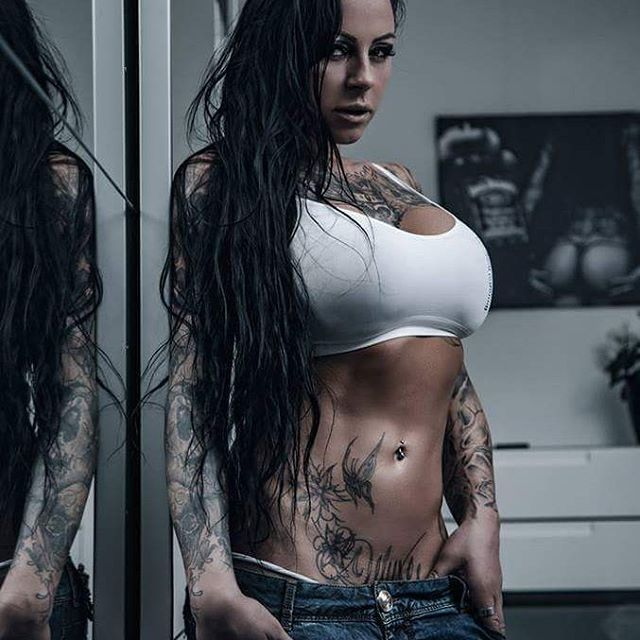 Photo: @phoenix_artphotography  #sharonphoenix #h2oceanmodels #phoenix #tattoo #tattoomodel #tattoos_of_instagram #tattooed #hamc #ink #inked #hot #angel #ass #tattoos #sexy #latex #bustygirls #busty #boobs