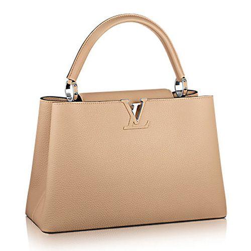 Louis Vuitton Capucines MM M94664 Dune