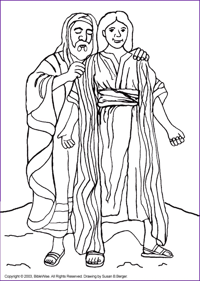 bible coloring pages of joesph - photo#6