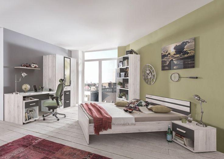 Kinderzimmer Schrank Kleiderschrank Weiß 2443 Buy now at   - bettsessel kinderzimmer gastebett