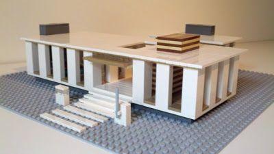 Concurso de Diseño Moderno de Casas de LEGO : Arquitectura y Diseño