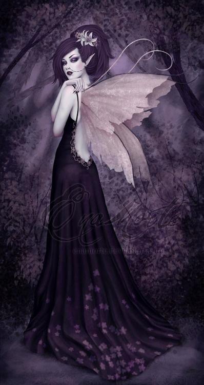 .purple fairy